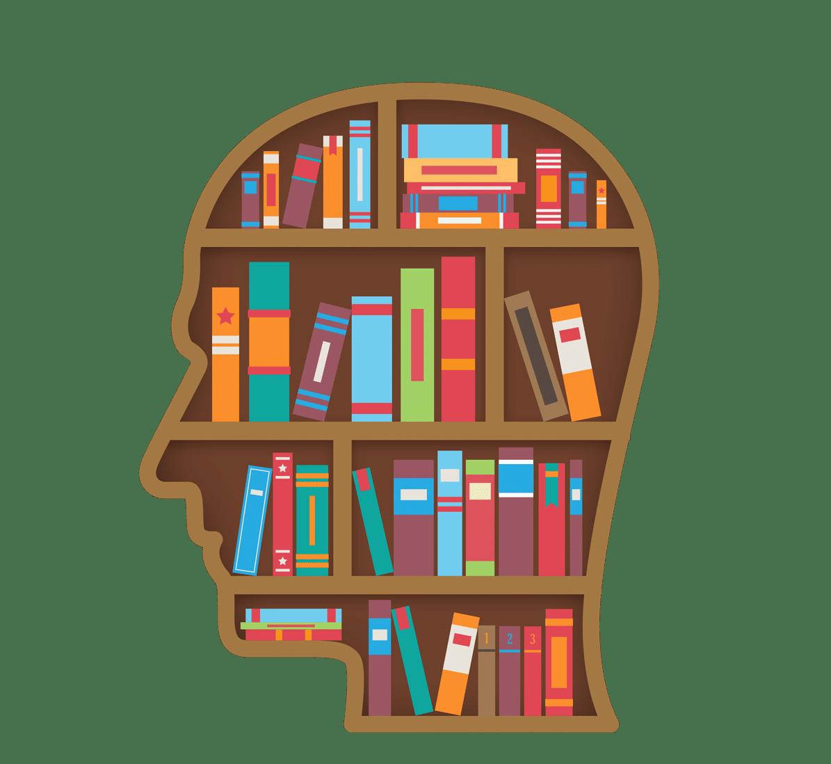 —Pngtree—head shape library bookshelf_5304259
